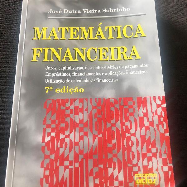 Matemática financeira josé dutra vieira sobrinho