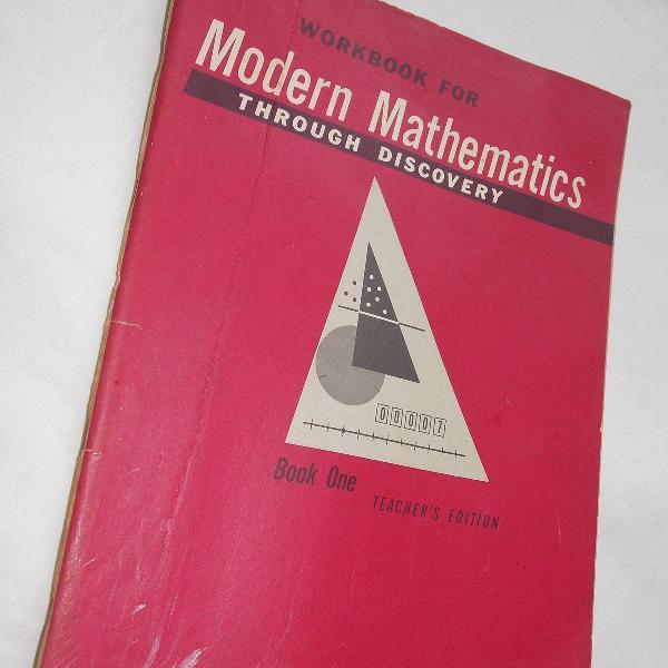 Modern mathematics caderno de exercíos daniel j. barren