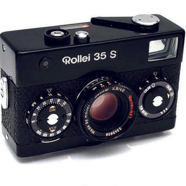 Máquina fotográfica analógica rollei 35 s