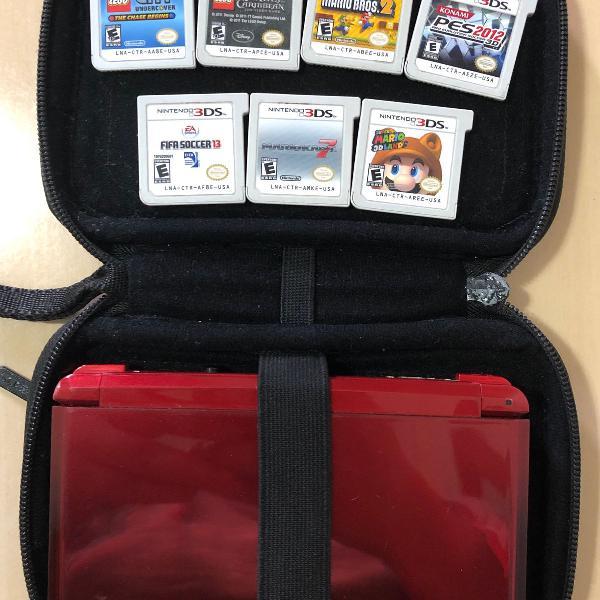 Nintendo 3ds completo com 7 jogos