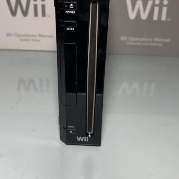 Nintendo wii preto