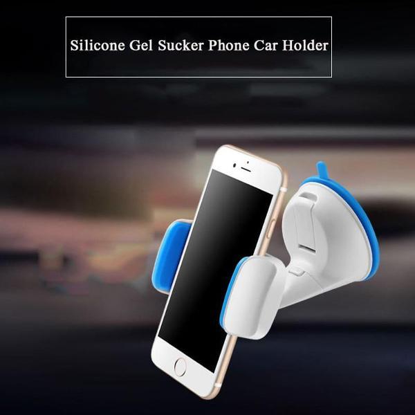 Suporte telefone celular ventosa silicone p/ carro universal