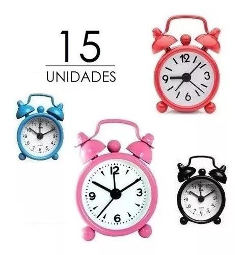 15 mini relógio presente l