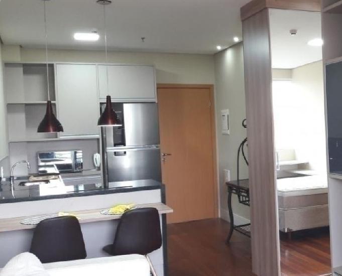 Apartamento mobiliado 01 dormitório link studios alphaville