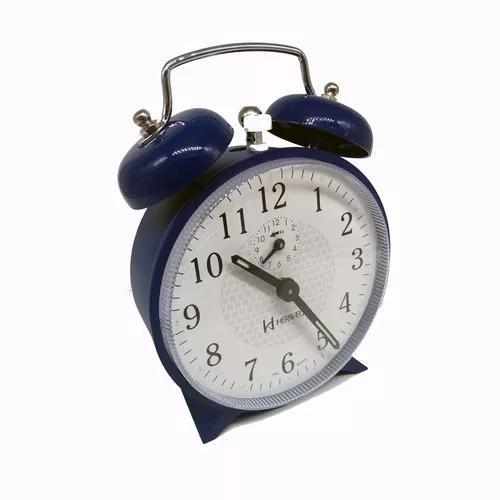 Despertador com som alto relógio a corda retro vintage top