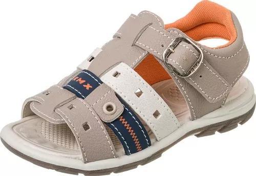 Kit com 3 pares papete sandália infantil masculino menino