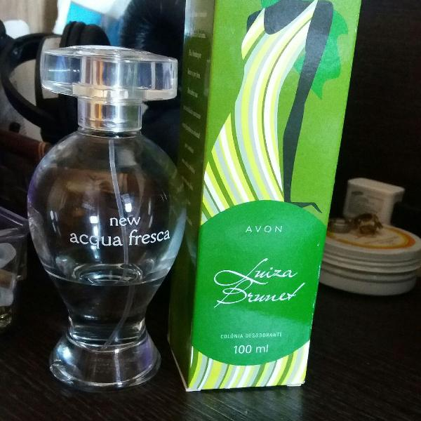 Luiza brunet tradicional 100 ml + new acqua fresca 25 ml + 3