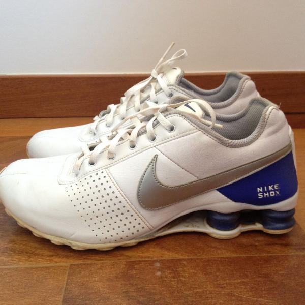 Nike shox tênis branco