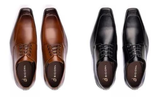 Promoção kit 2 pares de sapato estilo italiano 100%