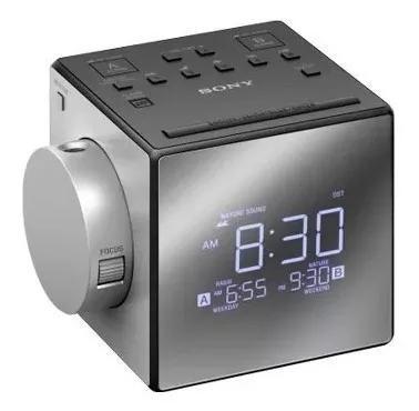 Rádio relógio sony com projetor de t