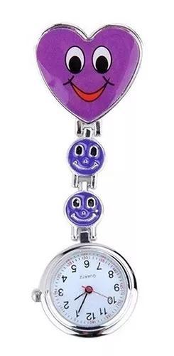 Relógio bolso lapela jaleco medicina enfermag