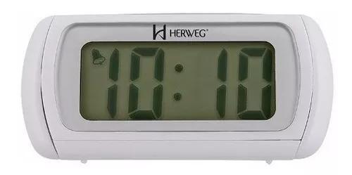 Relógio despertador digital herweg 2916 021 b