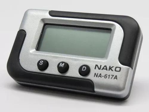 Relógio digital despertador cronometro portatil painel