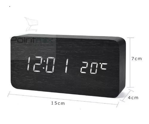 Relógio digital led cabeceira e despertador oferta!!!