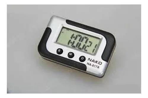 Relógio digital portátil carro cronometro data despertador