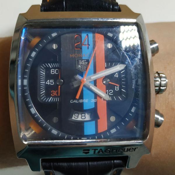 Relógio masculino,tag heuer monaco 24