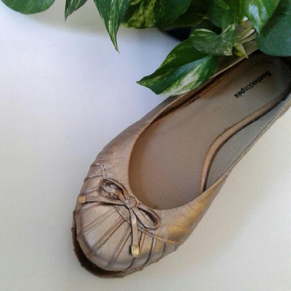 Sapatilha metalizada sonho dos pés