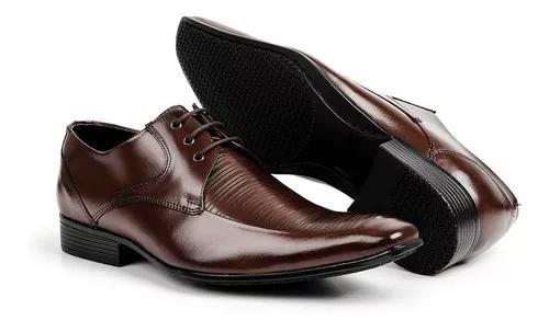 Sapato estilo italiano bigioni 100% couro legítimo bico