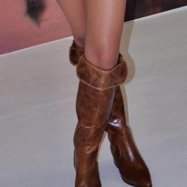 Bota over the knee luiza barcelos