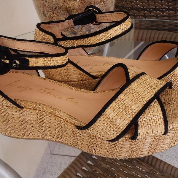 Sandália flatform luiza barcelos.