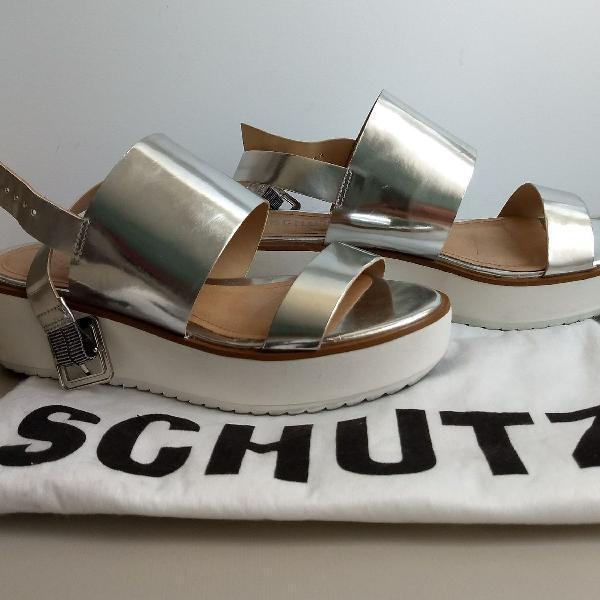 Sandália schutz flatform 34