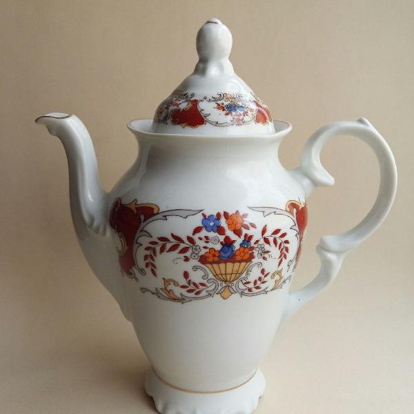 Bule de café ou chá em porcelana schmidt