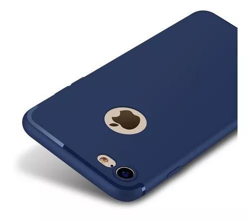 Capa capinha ultra fina fosca iphone 7 tpu case varias cores