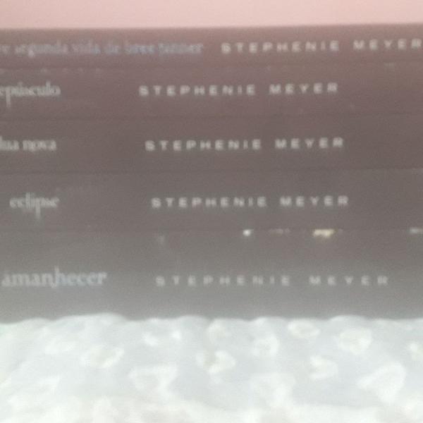Coleção completa da saga crepúsculo