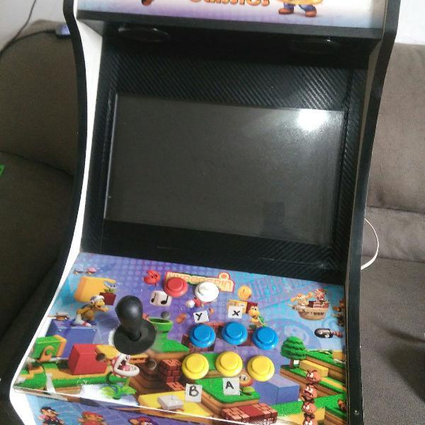 Fliperama arcade bartop