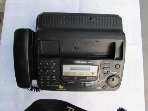 Fax panasonic digital kxf 767 funcionando (completo)