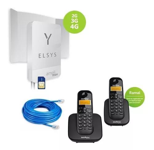 Kit celular rural intelbras s