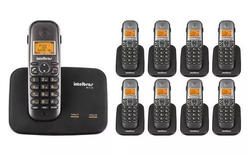 Kit Telefone 2 Linhas Ts 5150 + 8 Ramais Ts 5121 Intelbras