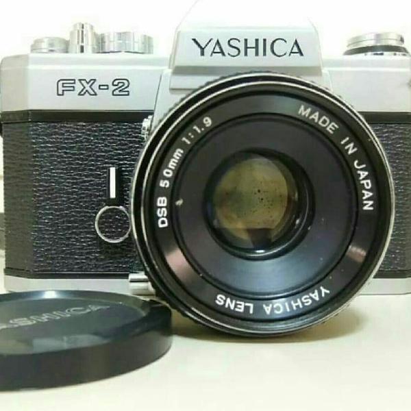 Máquina fotografica retro