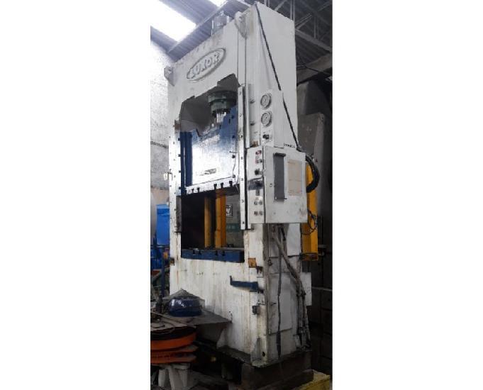 Prensa hidraulica 63 ton luxor tipo h usado no estado