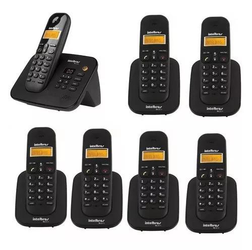 Telefone 3130 secretária eletronica e 6 ramais intelbras