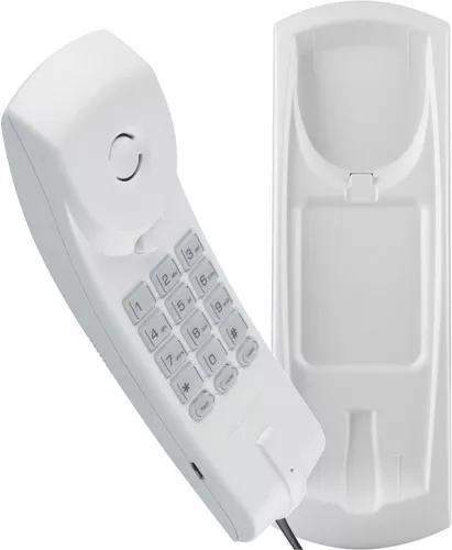 Telefone com fio fixo de parede e mesa intelbras tc20