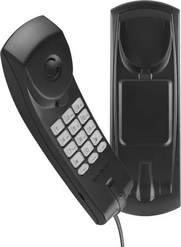 Telefone com fio tc 20 gondola intelbras preto