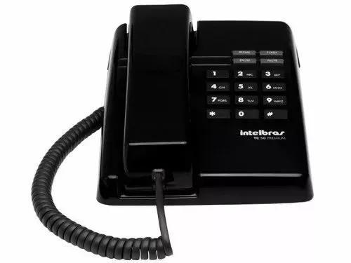 Telefone com fio tc 50 pr