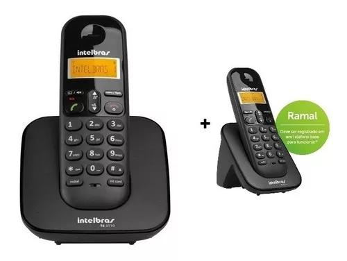 Telefone display digital intelbras ramal s