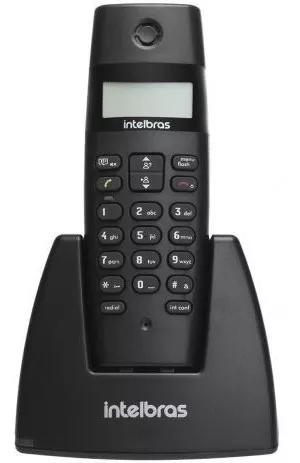 Telefone fixo s/ fio bina identificador de chamadas ts 40id