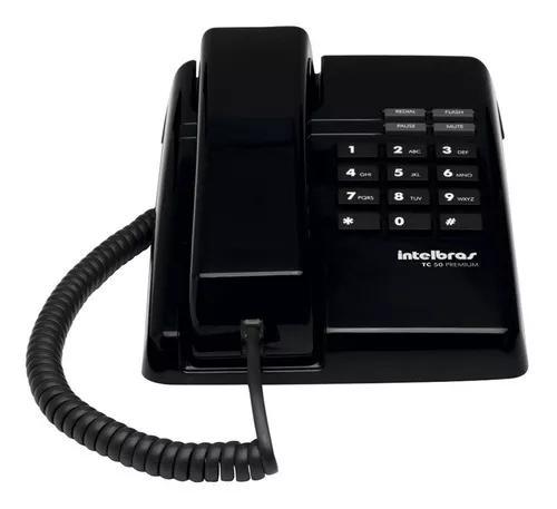 Telefone intelbras com fio pleno, pronta entrega.