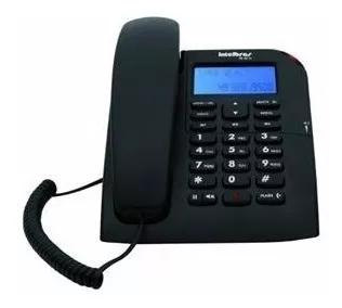 Telefone intelbras com fio tc60 id preto - 4000074