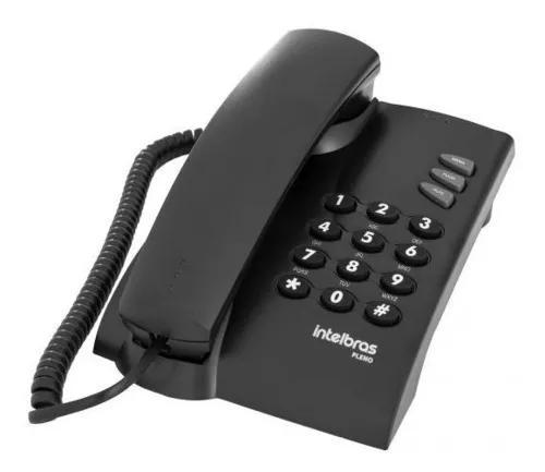Telefone mesa e parede com fio intelbras mesa parede