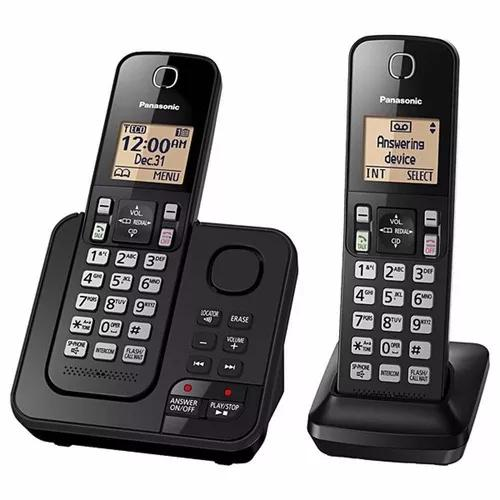 Telefone panasonic kx-tgc362 lab c/ sec. eletrônica s/
