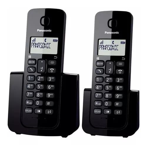 Telefone panasonic kxtgb112lb digital dect 6.0 + ramal c/ id