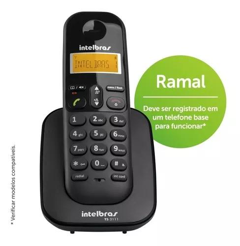 Telefone ramal digital intelbras s