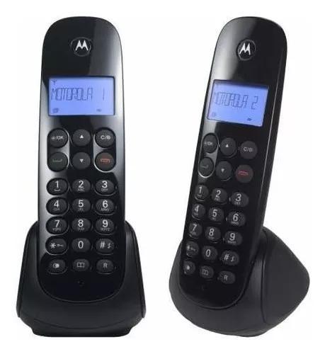 Telefone s/ fio c/ id base+1 ramal moto700-mrd2 - motorola