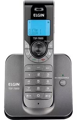 Telefone s/ fio c/ viva-voz elgin tsf -7800 (não usa chip)