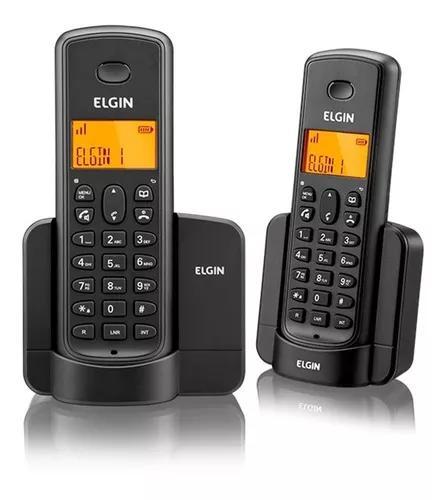 Telefone s/ fio elgin com ramal tsf-8002