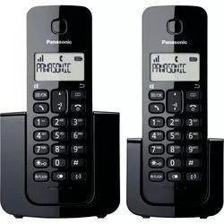 Telefone s/ fio panasonic kx-tgb112lbb id chamadas+1 rama